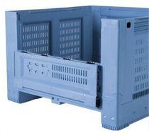 Cassa in polipropilene / di stoccaggio / per trasporto pesante / pieghevole