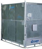 Cassa-pallet in acciaio galvanizzato / in rete metallica