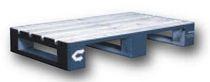 Semi-pallet in legno / euro / per movimentazione / accatastabile