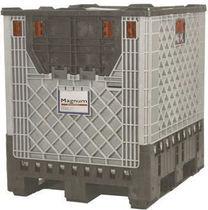 Cassa in plastica / di protezione / riutilizzabile / pieghevole