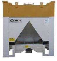 Cassa in metallo / di stoccaggio / per catalizzatori / impilabile