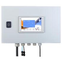 Apparecchio di misura per controllo degli addolcitori d'acqua / della durezza dell'acqua / elettronico / digitale