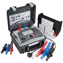 Tester per alta tensione / della resistenza di isolamento / compatto