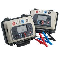 Tester elettrico / della resistenza di isolamento / portatile