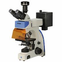 Microscopio a fluorescenza / da laboratorio / a videocamera digitale