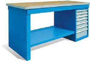 Banchi Da Lavoro Per Elettronica : Banco da lavoro in legno smontabile a cassetti sarralle