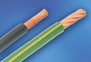 Filo elettrico isolato / elastico