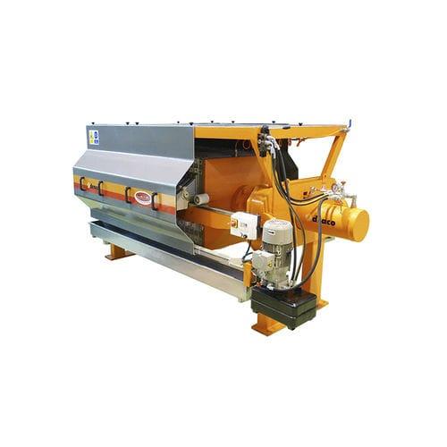 filtro-pressa semiautomatica / a telaio / per trattamento di fango