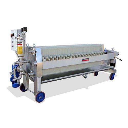 filtro-pressa a telaio / automatica / per vino