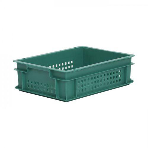 cassetta in plastica / di stoccaggio / accatastabile / con coperchio