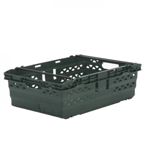 cassetta in plastica / di stoccaggio / accatastabile / incastrabile