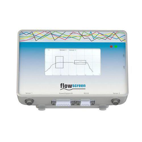 unità di valutazione per dosaggio / per misurazione di portata / con schermo TFT / con touch screen resistivo