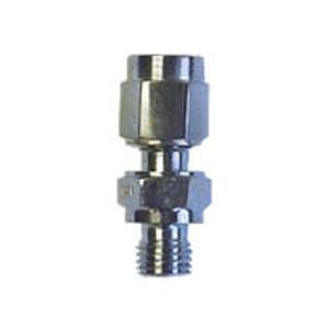 raccordo ad avvitamento / dritto / idraulico / in acciaio inossidabile