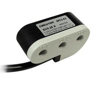 trasformatore di misura / di corrente / incapsulato / trifase
