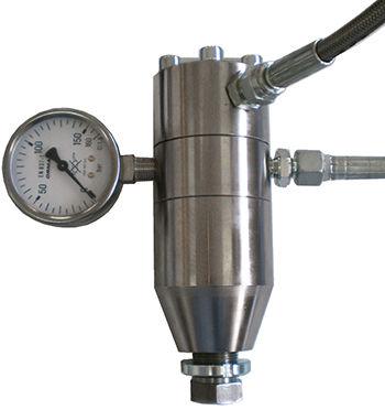 regolatore e riduttore di pressione per olio / a cartuccia