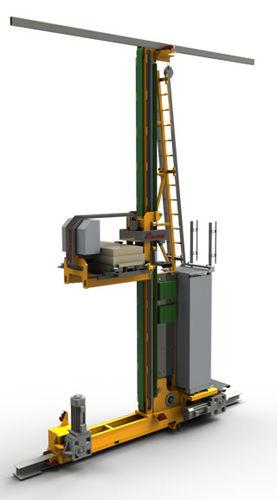sistema di stoccaggio automatico verticale - Cassioli