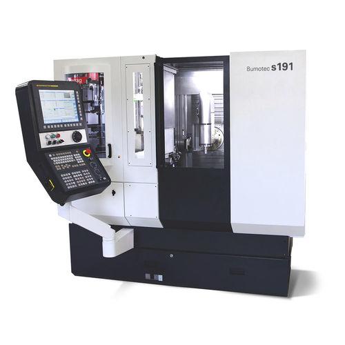 centro di tornitura-fresatura CNC / orizzontale / 7 assi / a motore lineare
