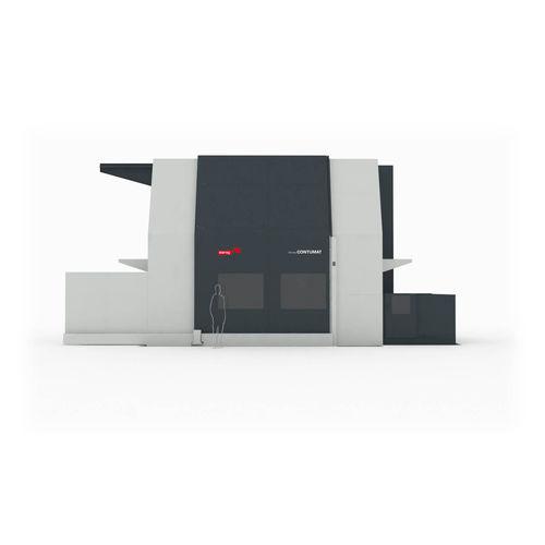 tornio CNC / verticale / 3 assi / rigido