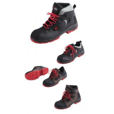 scarpa di sicurezza antiscivolo / isolante / antiperforazione / in pelle