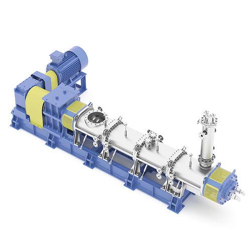impastatrice per prodotti viscosi / dinamico / continuo / per l'industria chimica