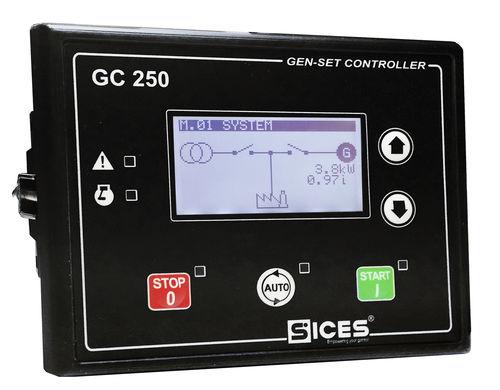 Controllore di gruppo elettrogeno per alimentazione di emergenza GC250 S.I.C.E.S.