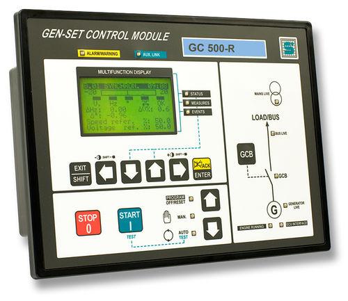 Controllore di gruppo elettrogeno parallelo GC500-R S.I.C.E.S.