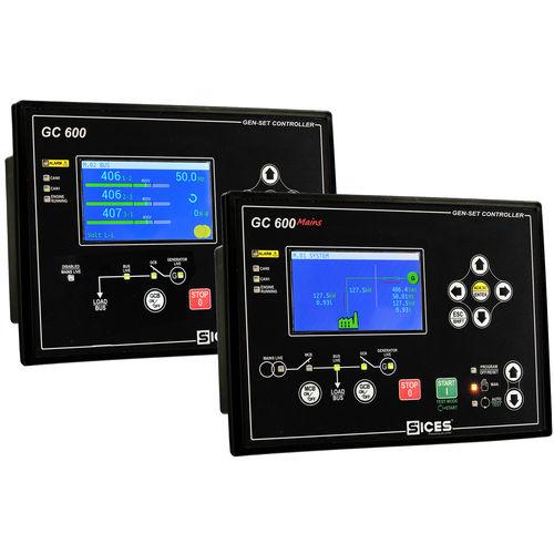 Controllore di gruppo elettrogeno parallelo GC600 S.I.C.E.S.