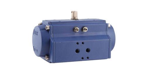 attuatore per valvola pneumatico / rotativo / con pignone e cremagliera / a doppio effetto