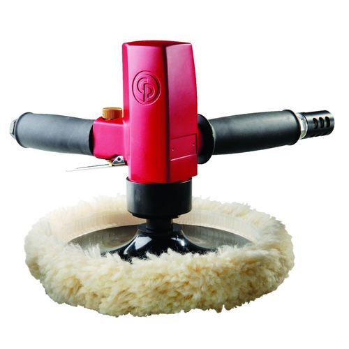 lucidatrice rotativa / pneumatica / per qualsiasi tipo di materiale / portatile