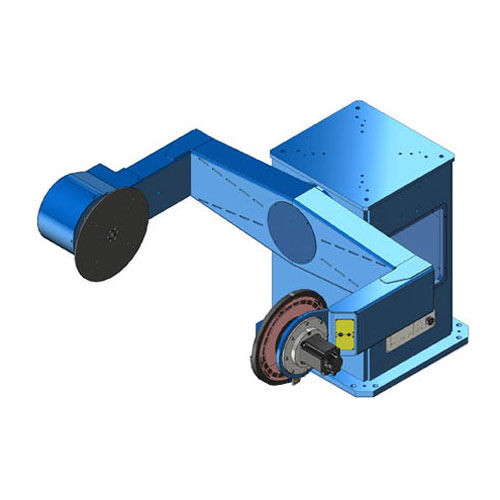 posizionatore a motore / rotativo / 2 assi / per robot