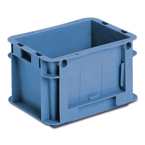 cassetta in plastica / di stoccaggio / da trasporto / accatastabile