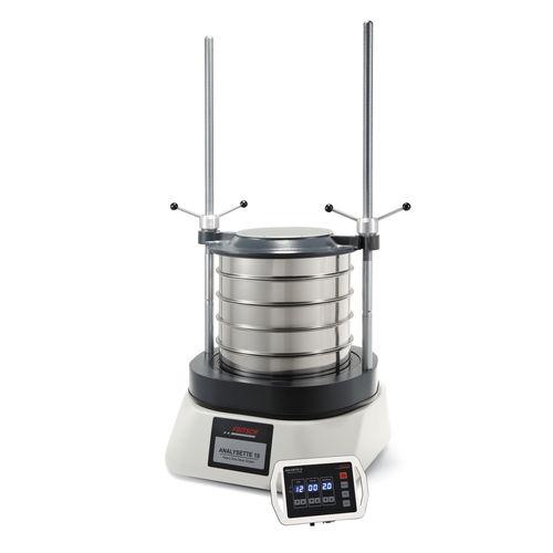 Setacciatore analitico per polveri / per applicazioni farmaceutiche / di controllo / a vibrazione circolare 0.063 - 125 mm | ANALYSETTE 18 | Sieve Shakers  Fritsch GmbH - Milling and Sizing