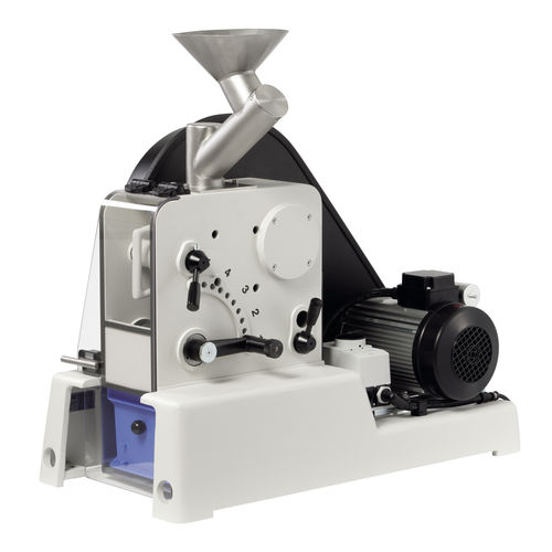 Frantumatore a ganascia / stazionario / per laboratorio max. 200 kg/h, 1 - 15 mm   PULVERISETTE 1 II classic line  Fritsch GmbH - Milling and Sizing