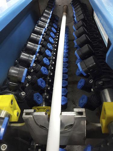 vasca di calibrazione per estrusione / per tubi / sottovuoto / per profilati