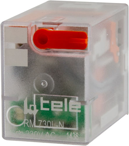 relè elettromeccanico DC / AC / 4NA/NC / a innesto