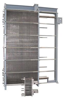 Scambiatore di calore a piastre e guarnizioni / liquido / liquido SIGMAFIT-series API Schmidt-Bretten GmbH & Co. KG