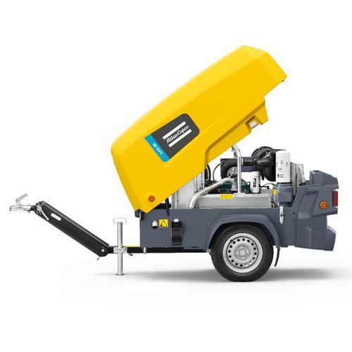 compressore d'aria / mobile / con motore diesel / di piccole dimensioni