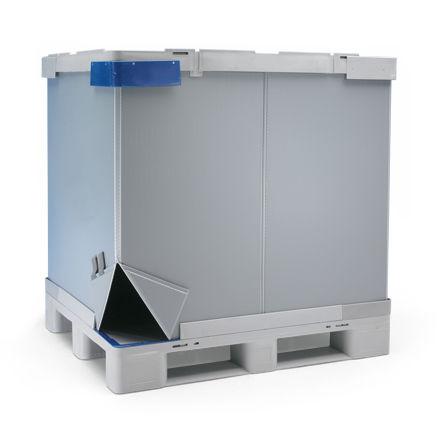 Cassa-pallet in PP / di stoccaggio / da trasporto / per prodotti sfusi TipBox® CABKA_IPS