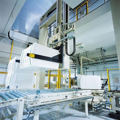 pressa imballatrice verticale / a carico dall'alto / automatica