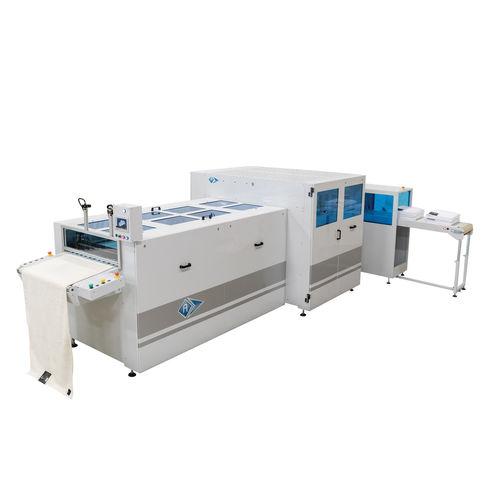 macchina piegatrice per tessuti / elettrica / automatica