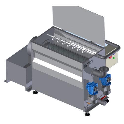 filtro per acque reflue / in maglia metallica / autopulente / continui