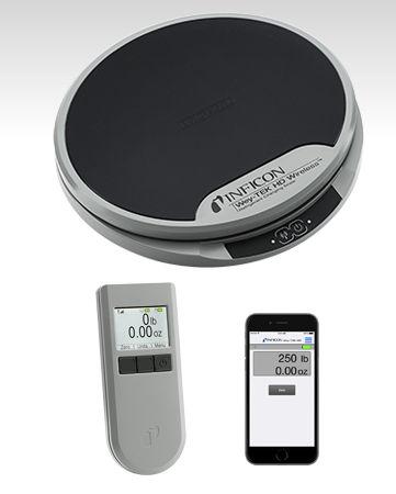 Bilancia di precisione / a piattaforma / con display LCD / per refrigerante Wey-TEK HD series INFICON