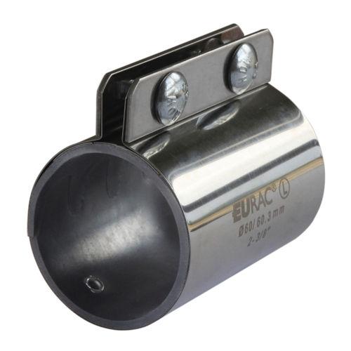 raccordo a compressione / dritto / pneumatico / in acciaio inox