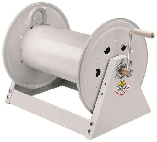 avvolgitore per tubo / manuale / fisso / aperto