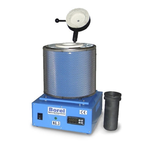Forno di fusione / tubolare / elettrico / da laboratorio KP 1100 SOLO Swiss & BOREL Swiss