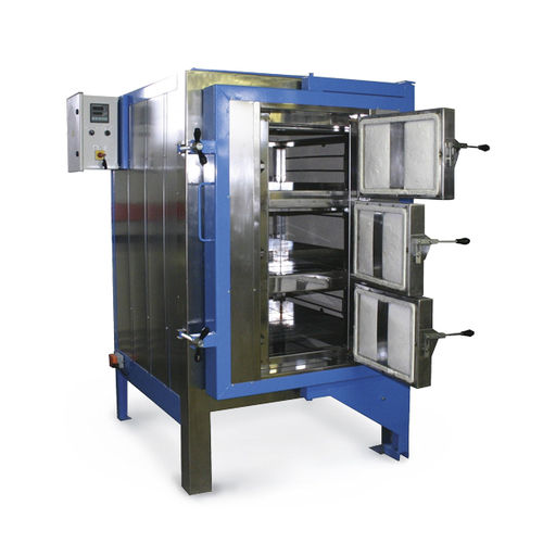 forno a camera / elettrico a resistenza / per l'industria della ceramica / per lavorazione di vetro