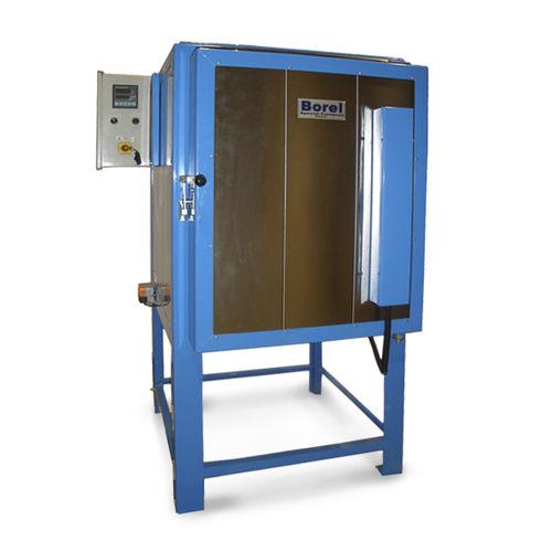 forno di ricottura / a camera / elettrico a resistenza / per lavorazione di vetro