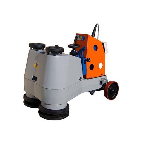 macchina lucidatrice per pavimento / per marmo / a 2 teste / innaffiata