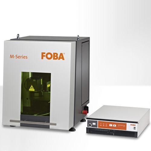 macchina di marcatura laser in fibra / laser pulsato a fibra / benchtop / portatile