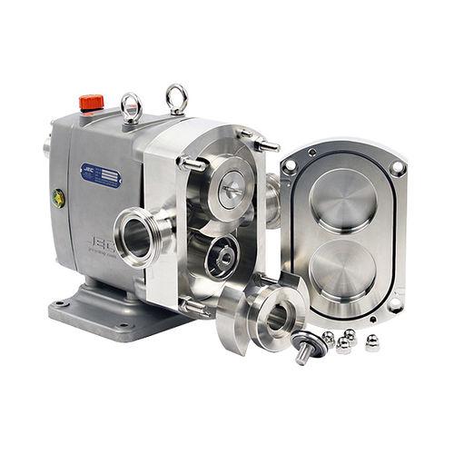 pompa a lobi / per prodotti chimici / per prodotti agroalimentari / con motore idraulico